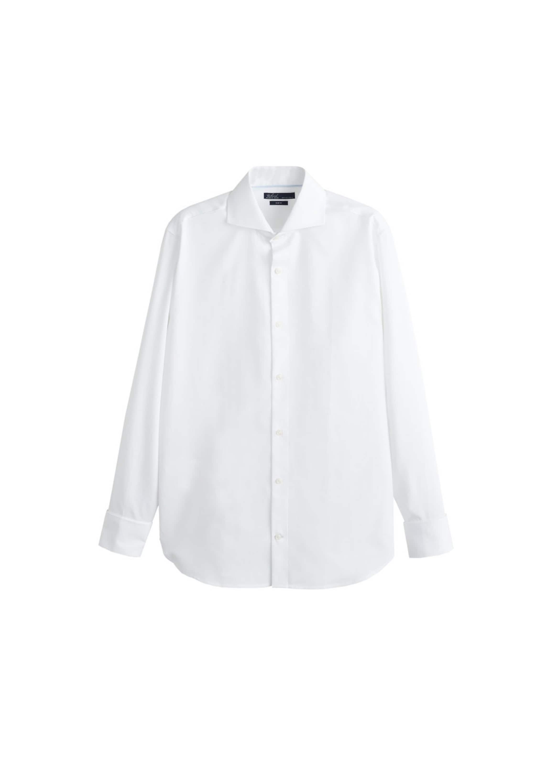 'segria' In Man Hemd Weiß 76yvbfgiy Mango 8PXnO0wNk