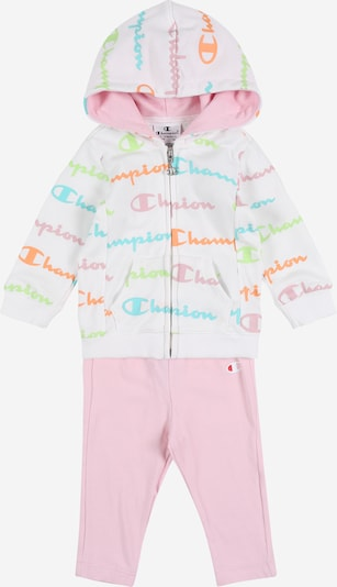 Champion Authentic Athletic Apparel Set in rosa / weiß, Produktansicht