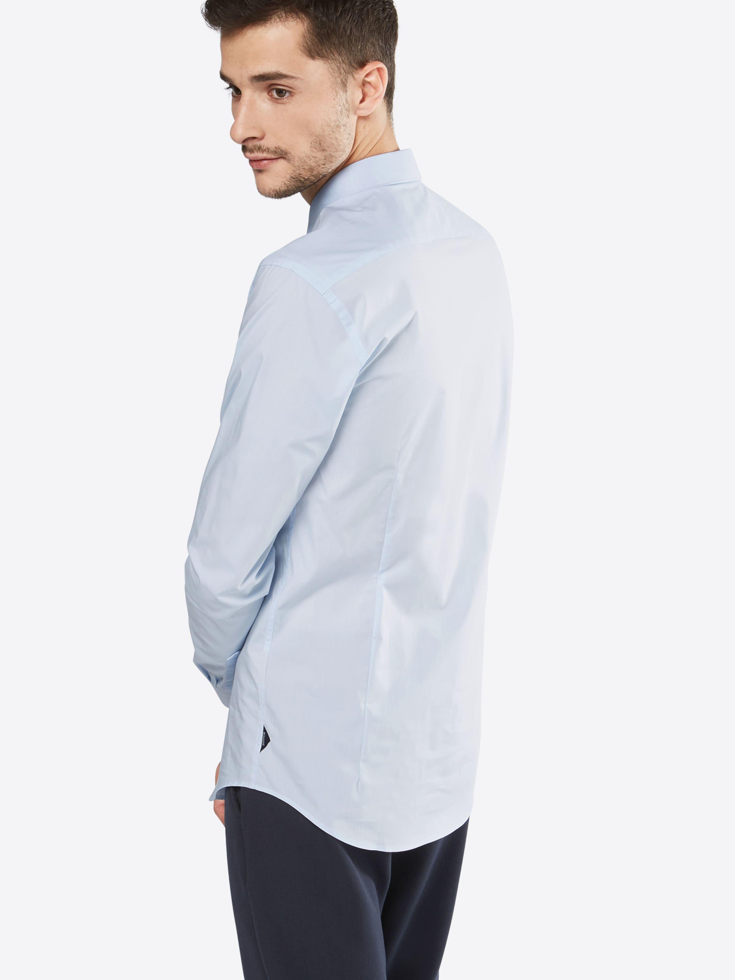 SCOTCH & SODA Hemd 'NOS - Classic longsleeve shirt in crispy cotton/lycra qualit' Werksverkauf iznjRrmq