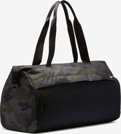 Sportinis krepšys 'Radiate' iš NIKE , spalva - pilka / tamsiai žalia / juoda, Prekių apžvalga