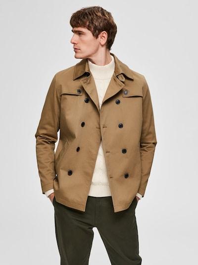 SELECTED HOMME Trenchcoat in beige, Modelansicht