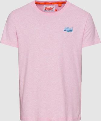 Superdry Shirt 'ORANGE LABEL VINTAGE EMB' in Rosa
