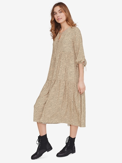 Riani Kleid in hellbeige / schwarz, Modelansicht