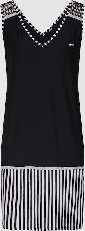 LIU JO JEANS Kleid 'ABITO JERSEY' in schwarz  Großer Rabatt