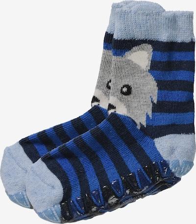 STERNTALER Socken 'Fli Fli Air, Wolf' in blau / mischfarben, Produktansicht