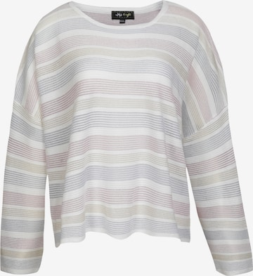 Pull-over oversize myMo at night en blanc
