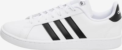 ADIDAS PERFORMANCE Sneaker 'Grand Court' in schwarz / weiß, Produktansicht