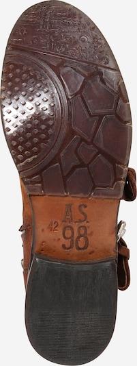 A.S.98 Bottes en cognac: Vue de dessous