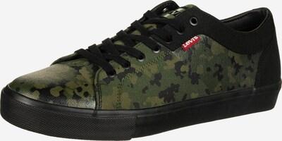 LEVI'S Schuhe ' WOODWARD ' in grün / schwarz, Produktansicht