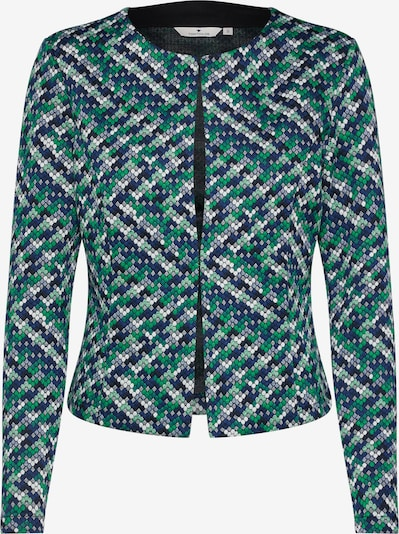 TOM TAILOR Blazer 'colorful jersey Blazer 1/1' in blau / grün, Produktansicht