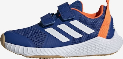 ADIDAS PERFORMANCE Sneaker 'FortaGym' in navy / orange / weiß: Frontalansicht