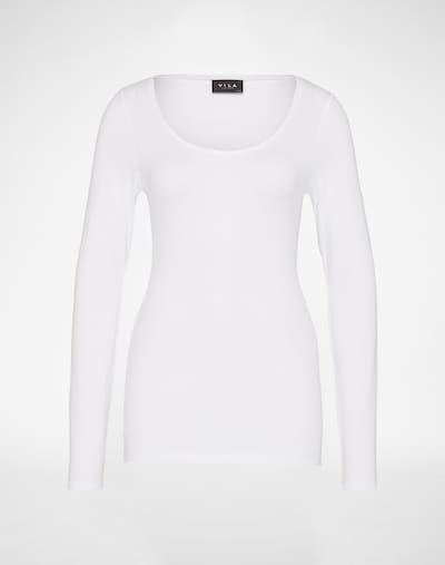 VILA T-shirt 'VIOFFICIEL' en blanc, Vue avec produit