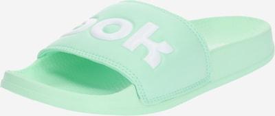 Reebok Classic Badelatschen 'Slid' in mint / weiß, Produktansicht