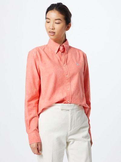 POLO RALPH LAUREN Bluse in rot, Modelansicht
