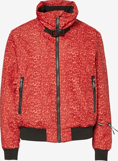 CHIEMSEE Sportjacke 'LOVELAND' in orange / rot / schwarz, Produktansicht