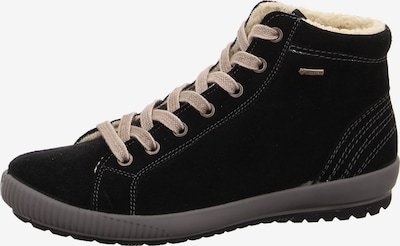 Legero Veterlaarsjes 'Tanaro' in de kleur Zwart, Productweergave