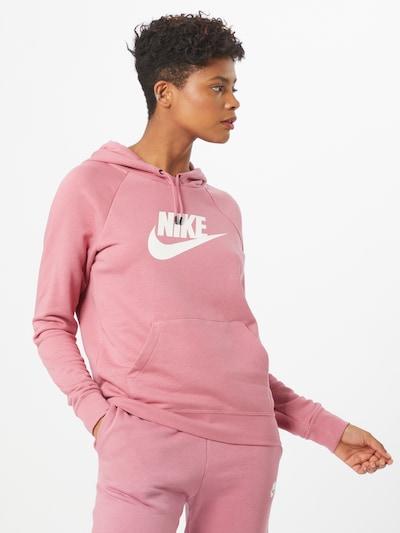 rózsaszín / fehér NIKE Tréning póló, Modell nézet
