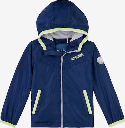 Sanetta Kidswear Übergangsjacke in saphir / schilf / weiß, Produktansicht