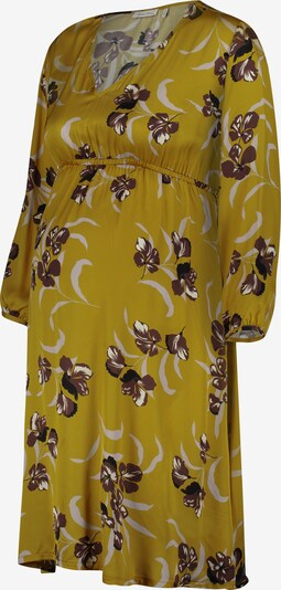 QUEEN MUM Robe en jaune, Vue avec produit