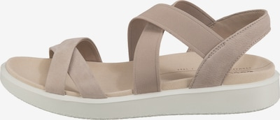 ECCO Sandale in taupe, Produktansicht