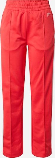 HUGO Broek 'Nanini' in de kleur Rood / Wit, Productweergave