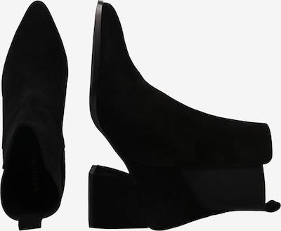 Botine 'JOY LEATHER BOOT' VERO MODA pe negru: Privire laterală
