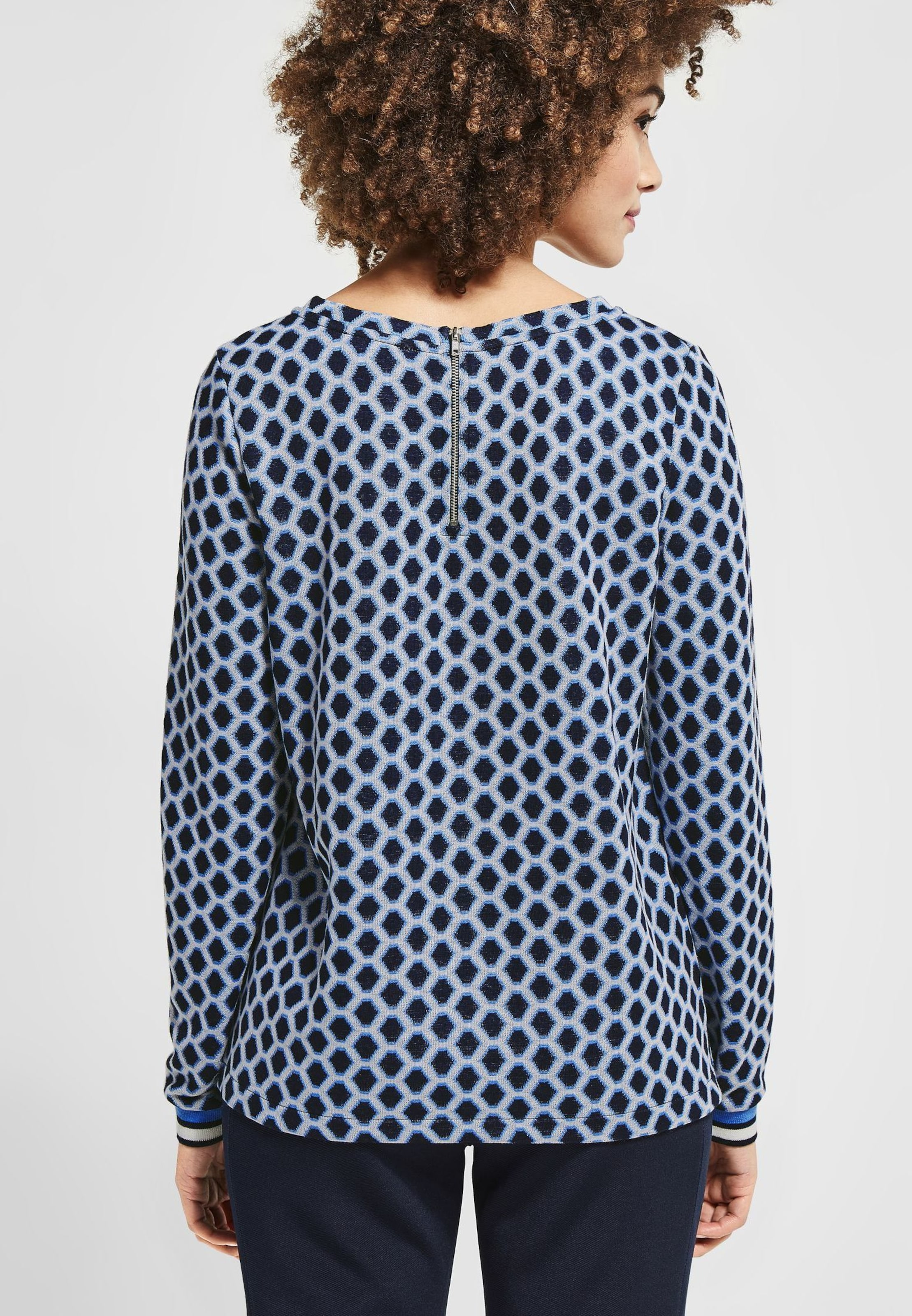 NavyOffwhite 'polly' Shirt Street In One QdxthsrC