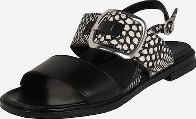 MJUS Sandale 'GRAM' in schwarz / weiß, Produktansicht