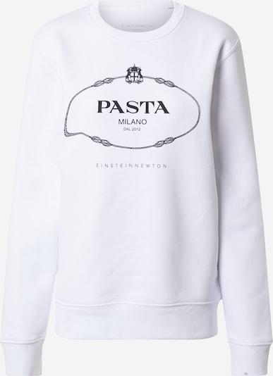 EINSTEIN & NEWTON Sweatshirt 'Pasta Sweatshirt Klara Geist' in schwarz / weiß, Produktansicht