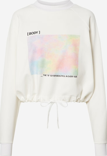 ABOUT YOU x GNTM Sweatshirt 'Xenia' in offwhite, Produktansicht
