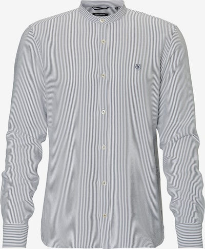 Marc O'Polo Hemd in dunkelgrau / weiß, Produktansicht