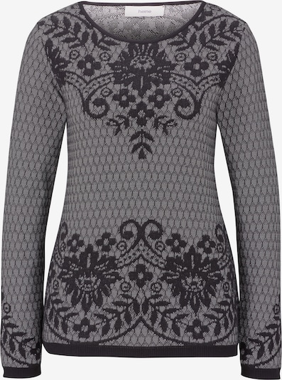 Megztinis iš heine , spalva - juoda / balta, Prekių apžvalga