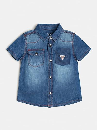 GUESS KIDS Hemd in blau, Produktansicht