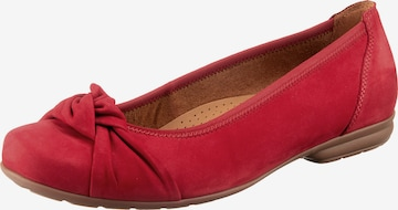 GABOR Ballet Flats in Red