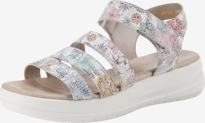 REMONTE Sandalen in mischfarben / weiß, Produktansicht