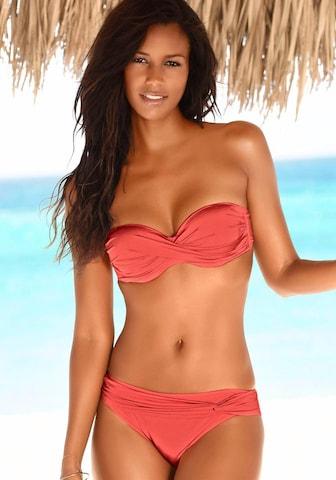 LASCANA Bikiinid, värv punane