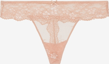 String 'DAILY LACE' di LingaDore in beige
