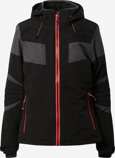 KILLTEC Sportjas 'Savognin' in de kleur Grijs / Zwart, Productweergave