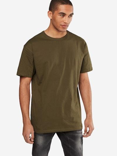 Urban Classics T-Shirt in oliv: Frontalansicht