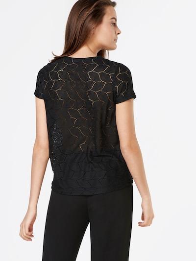 JDY Shirt in de kleur Zwart: Achteraanzicht