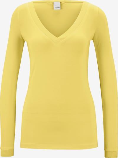heine Shirt in hellgelb, Produktansicht