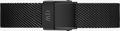 Daniel Wellington Uhrenarmband in schwarz, Produktansicht