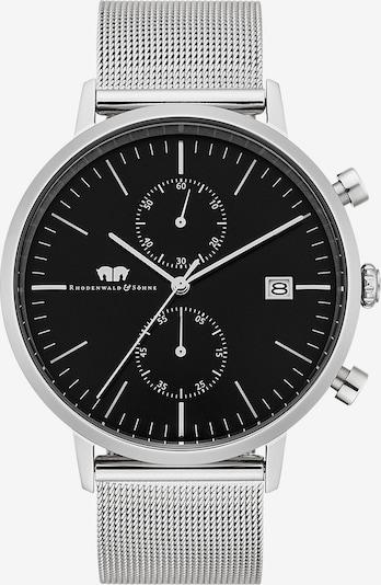 Rhodenwald & Söhne Armbanduhr 'Hyperstar' in schwarz / silber, Produktansicht