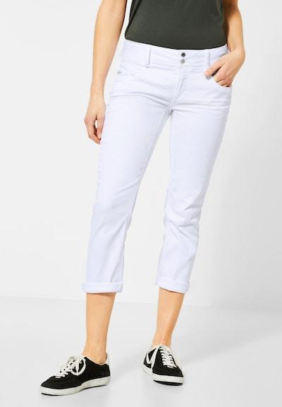 STREET ONE Broek in de kleur Wit, Modelweergave