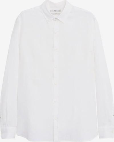 MANGO MAN Chemise 'Avispa' en blanc, Vue avec produit