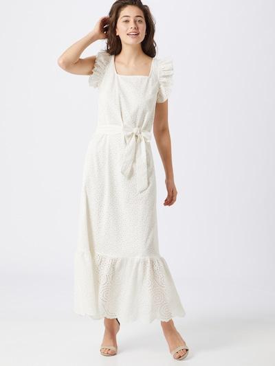OBJECT Kleid 'LINEANA' in creme / weiß, Modelansicht