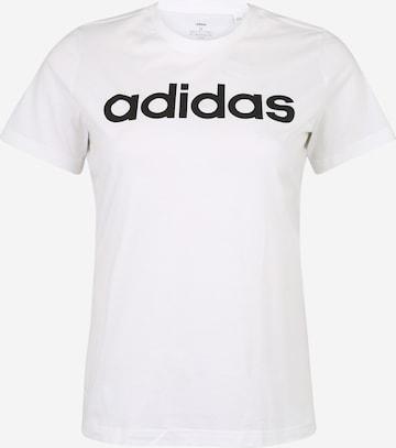 ADIDAS PERFORMANCE Λειτουργικό μπλουζάκι σε λευκό