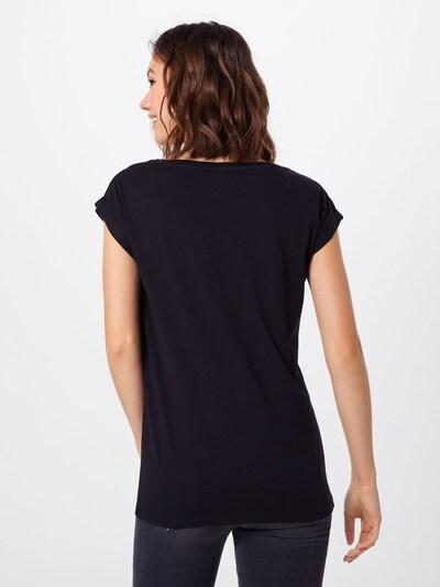 Iriedaily Shirt 'Butterflies' in schwarz / weiß: Rückansicht