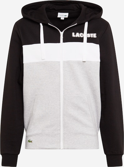 szürke / fekete / fehér LACOSTE Tréning póló, Termék nézet