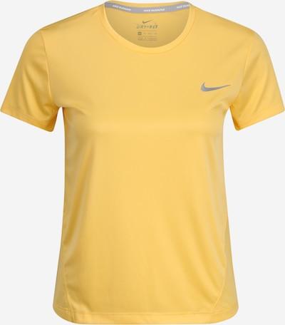 NIKE Funkcionalna majica 'MILER' | rumena barva, Prikaz izdelka